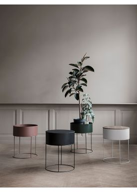 Ferm Living - Plantestand - Plant Box - Round - Sort