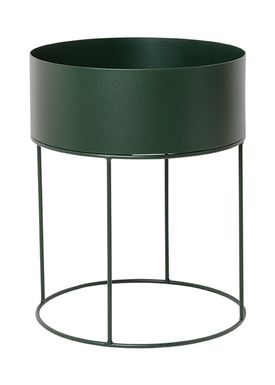Ferm Living - Plant Stand - Plant Box - Dark Green