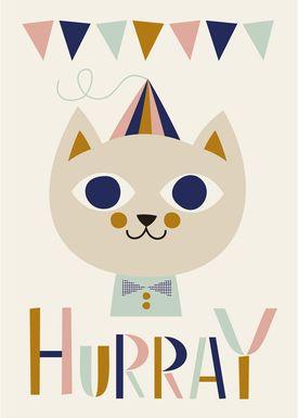 Ferm Living - Poster - Mr. Cat Poster -