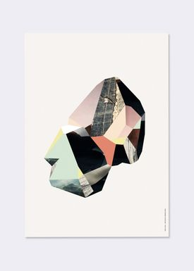 Ferm Living - Poster - Wooden Illustrations - Quartz 4