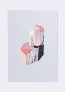 Ferm Living - Poster - Wooden Illustrations - Quartz 1