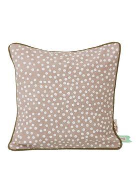 Ferm Living - Pude - Dots Cushion - Grå