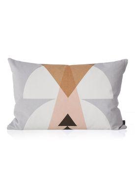 Ferm Living - Pude - Inka Cushion - Grå