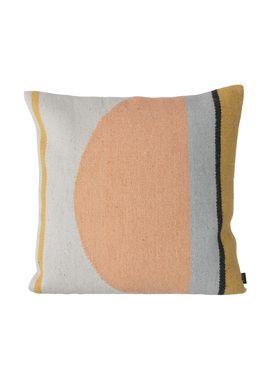 Ferm Living - Pude - Kelim Cushions Semicircle - Halvcirkel