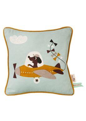 Ferm Living - Pude - Kids Cushion - Plane Cushion