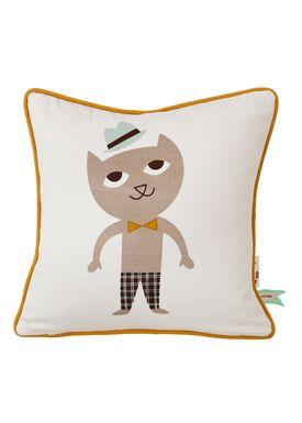 Ferm Living - Pude - Kids Cushion - Cat Cushion