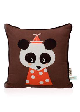 Ferm Living - Pude - Kids Cushion - Posey Panda Cushion
