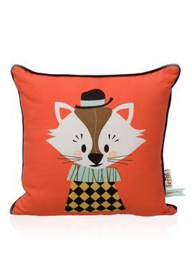 Ferm Living - Pude - Kids Cushion - Aristo Katt Cushion