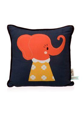 Ferm Living - Pude - Kids Cushion - Elle Elephant Cushion