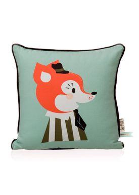 Ferm Living - Pude - Kids Cushion - Mr. Frank Fox Cushion