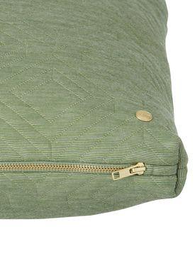 Ferm Living - Cushion - Quilt Cushion - Green 45 x 45
