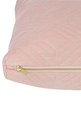 Ferm Living - Pude - Quilt Cushion - Rosa 45 x 45