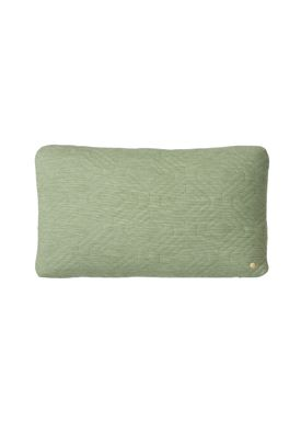 Ferm Living - Pude - Quilt Cushion - Grøn 40 x 60