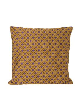 Ferm Living - Cushion - Salon Cushion - Mosaic Curry