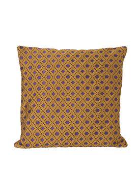 Ferm Living - Pude - Salon Cushion - Mosaic Curry