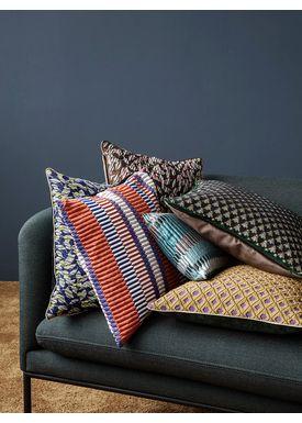 Ferm Living - Pude - Salon Cushion - Flower Rust
