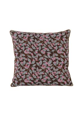 Ferm Living - Pude - Salon Cushion - Flower Rust