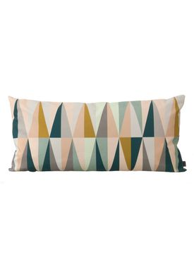 Ferm Living - Pude - Spear Cushion Large - Multi - large