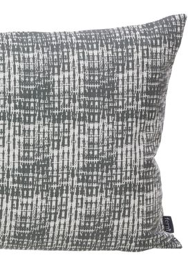 Ferm Living - Pude - Static Cushion - Grå/hvid