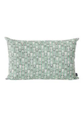 Ferm Living - Pude - Vivid cushion - Mint/grå