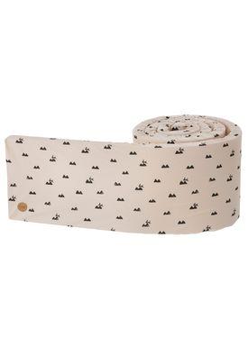 Ferm Living - Sengerand - Ferm Bed Bumper - Rose Rabbit
