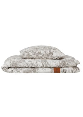 Ferm Living - Sengesæt - Marble Bedding - Grey