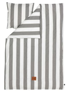 Ferm Living - Sengesæt - Vertigo Bedding - Grey