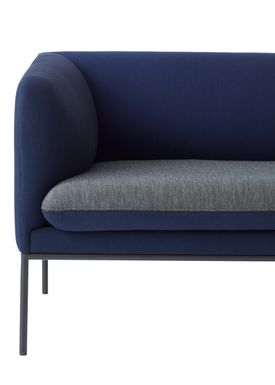 Ferm Living - Sofa - Turn Sofa - Uniform Melange by Febrik - Made to order Colours