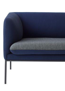 Ferm Living - Sofa - Turn Sofa - Uniform Melange by Febrik - Made to order Colours