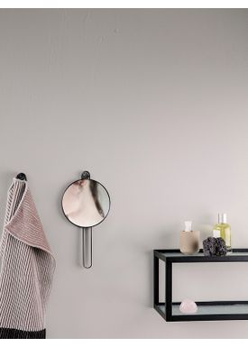 Ferm Living - Spegel - Poste Hand Mirror - Black
