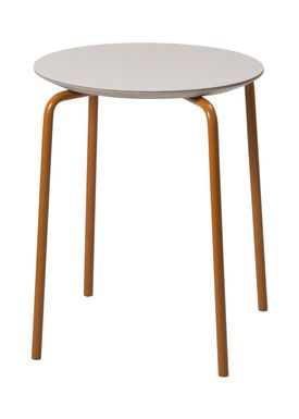 Ferm Living - Stol - Herman Stool - Grey/Ochre