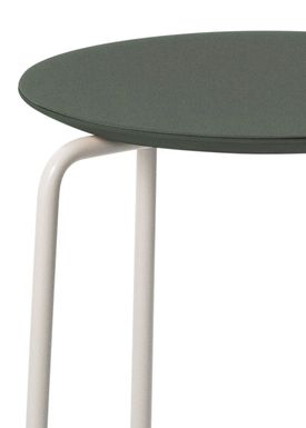 Ferm Living - Stol - Herman Stool - Green/Light Grey