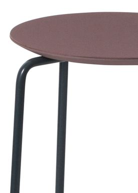 Ferm Living - Stol - Herman Stool - Bordeaux/Blue