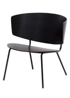 Ferm Living - Stol - Herman Lounge Chair - Black