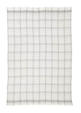 Ferm Living - Tæppe - Mohair Throw - Grey