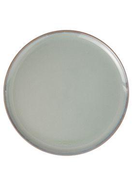 Ferm Living - Tallerken - Neu Plate - Grå Glasur - Large