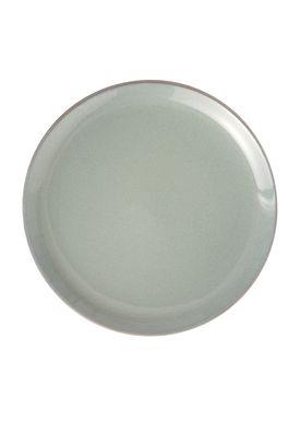 Ferm Living - Tallerken - Neu Plate - Grå Glasur - Small