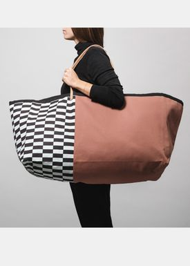 Ferm Living - Bag - Herman Big Bag - Ochre Pattern
