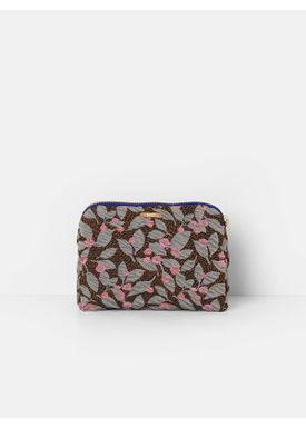 Ferm Living - Taske - Salon Purse - Flower Rust