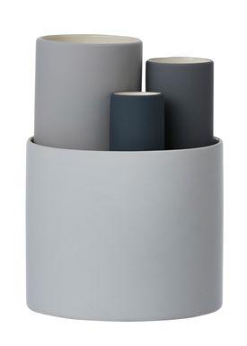 Ferm Living - Vase - Collect Vases - Grå