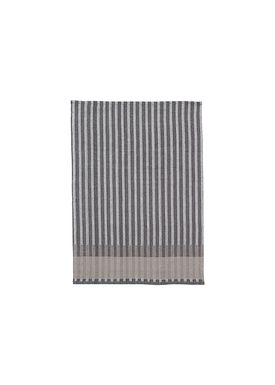 Ferm Living - Viskestykke - Grain Tea Towel - Grey