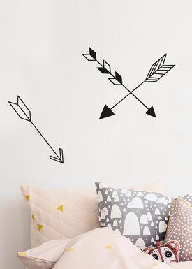 Ferm Living - Wallstickers - Arrow Wallsticker - Sort