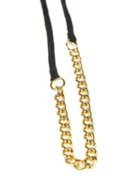 Forrest & Bob - Necklace - Hillside - Dark Grey (Gold)