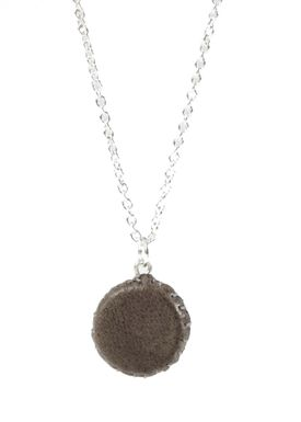 Forrest & Bob - Necklace - Leather Drum - Mocha