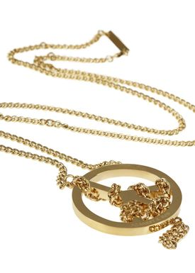 Forrest & Bob - Necklace - N-Peace - Gold