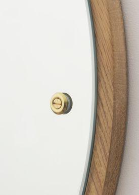 FRAMA - Spejl - Circle Mirror / CM-1 - Oiled Oak