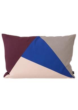 Ferm Living - Pude - Fusion Triangle Cushion - Multi