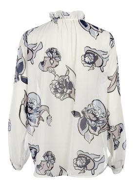 FWSS - Blouse - Pantomine - White Bloom