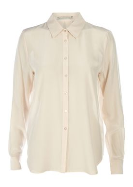 FWSS - Shirt - Left & Right - Silver Peony (Nude)