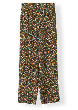 Ganni - Bukser - Joycedale Pants - Multicolour